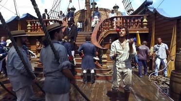 Veja os detalhes do navio que traz a comitiva de Leopoldina ao Brasil