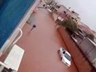 Chuva deixa bairros alagados em Santa Rita do Sapucaí, MG