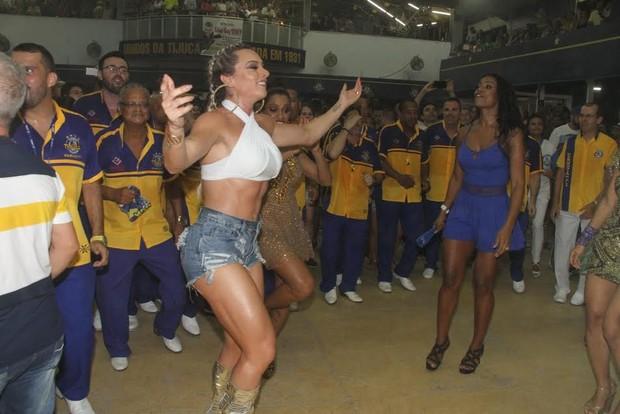 Juju Salimeni na Unidos da Tijuca (Foto: Thyago Andrade/ Ag. Brazil News)