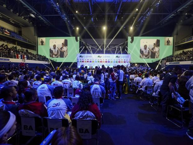 Encerramento da 8ª Olimpíada do Conhecimento (Foto: José Paulo Lacerda)