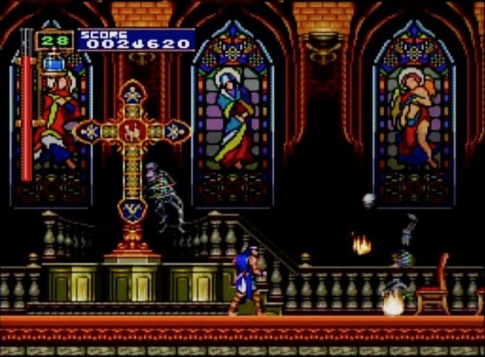 Castlevania X: Rondo of Blood era exclusivo do PC-Engine até chegar ao Virtual Console do Wii (Foto: Reprodução)