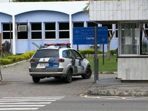 São Lucas fica dentro do Hospital da PM e tem câmeras de segurança (Foto: Reprodução / TV Gazeta)