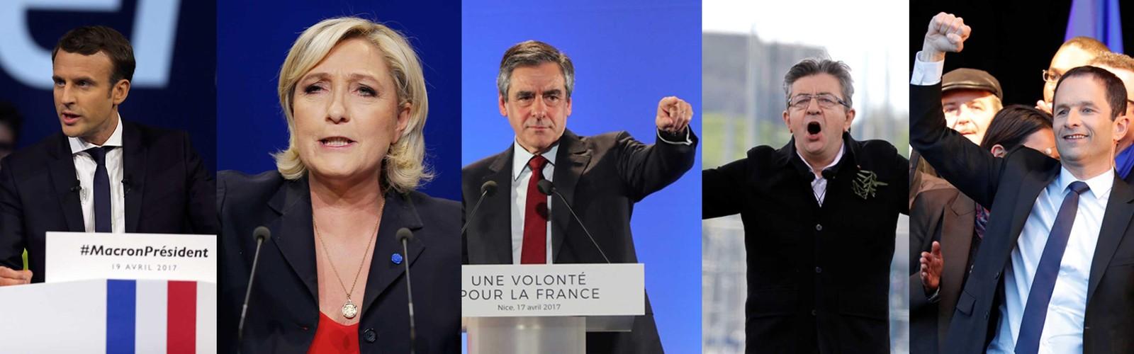 Fanceses vão às urnas em 1º turno de eleição presidencial