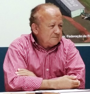 Antônio Aquino Lopes, presidente da FFAC (Foto: Duaine Rodrigues)