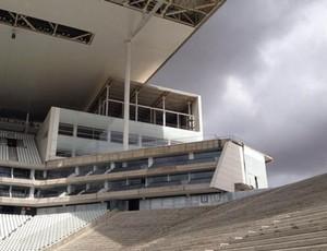 Arena Corinthians Telão (Foto: Reprodução/ Twitter)