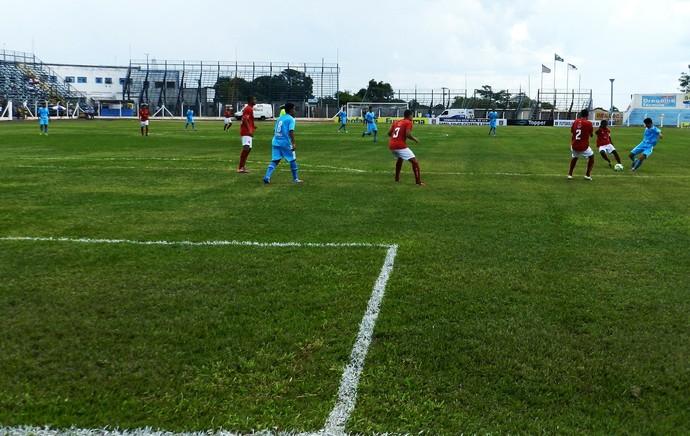 Pela Copinha, Brasília faz 2 a 1 no Marília (Foto: Clayton Santos / Globoesporte.com)