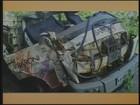 Motociclista morre após bater em caminhão em Brusque, no Vale