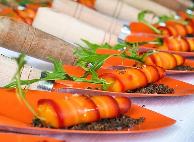 Os pratos são preparados por chefs com ingredientes de qualidade, produzidos por produtores locais (Foto: Divulgação)