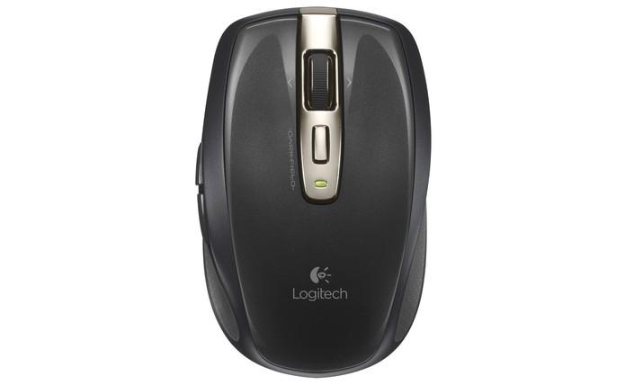 Mouse tem design ergonômico e tecnologia wireless  (Foto:  Divulgação/Logitech)
