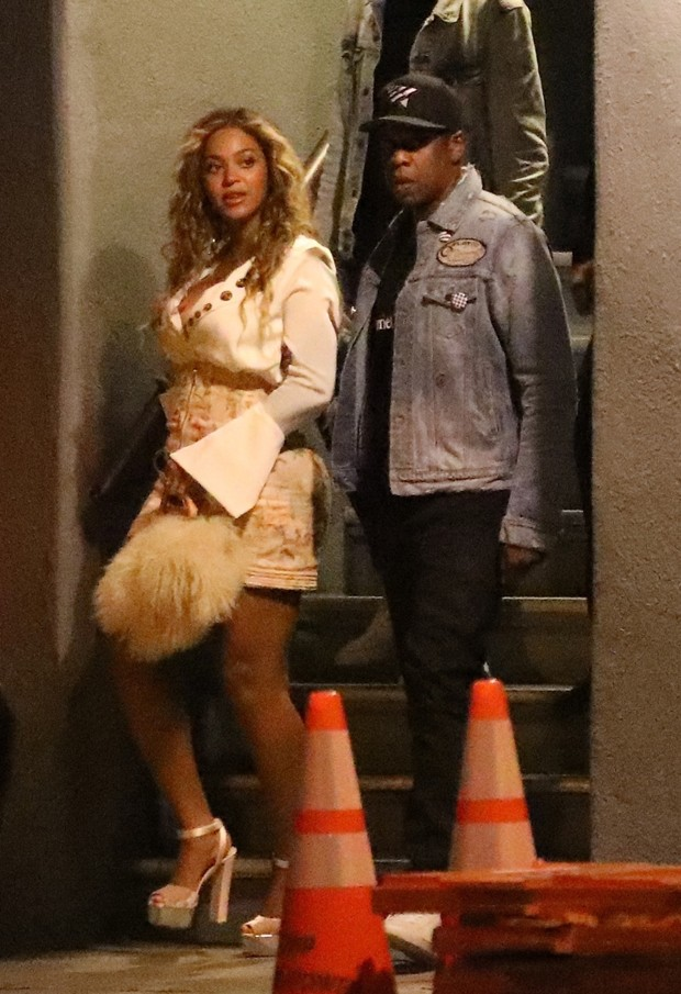 Beyoncé  e Jay Z (Foto: The Grosby Group)