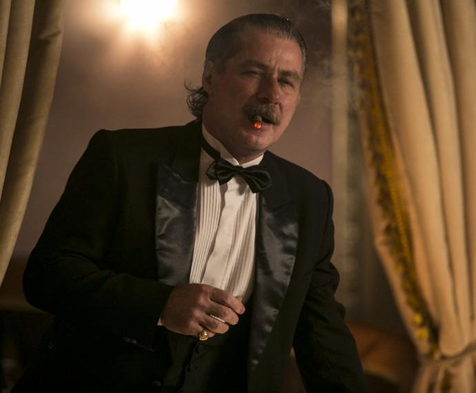 Leopoldo interpretará Heitor, comerciante rico e poderoso (Foto: Inácio Moraes/Gshow)