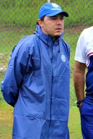 Bahia; treino; Fazendão; Alexandre Faganello; Nei Pandolfo (Foto: Divulgação/E.C. Bahia)