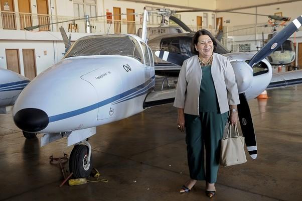 Aviões que serviram ao tráfico de drogas vão ser usados para a segurança de 11 Estados brasileiros (Foto: Wilson Dias/ABr )