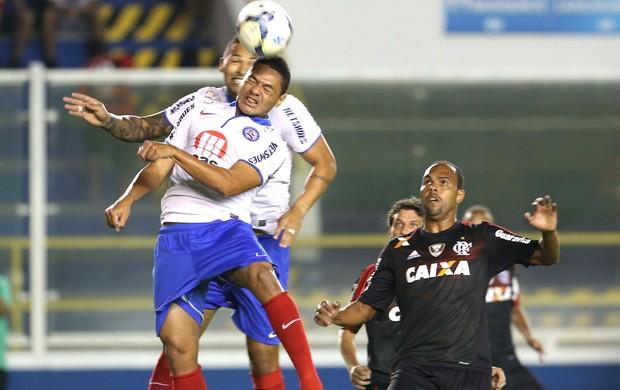 Helder e Alecsandro Bahia e Flamengo (Foto: Rui Porto Filho / Agência estado)