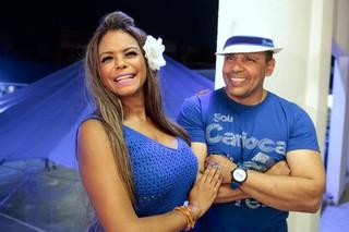 Galeria Selminha Sorriso e Marcos Falcon - Portela (Foto: Isac Luz / EGO)