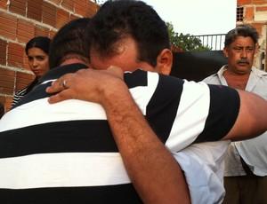 Cearense morto no Itaquerão, em SP, voltaria para casa em dezembro (Foto: Gabriela Alves/G1)