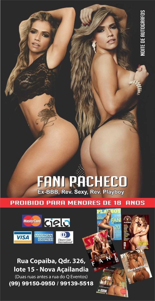 Fani Pacheco (Foto: Divulgação)