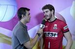 Bruninho fala sobre fortalecimento da Superliga com a chegada de gringos (Tomás Hammes/GloboEsporte.com)