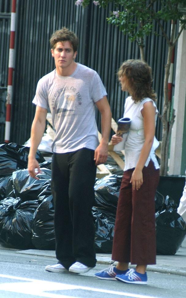 Natalie Portman e Jake Gyllenhaal em 2002 (Foto: Getty Images)