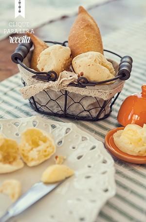 Oindispensável pão de queijo: na Pequena Tiradentes, a massa leva batata (Foto: Lufe Gomes/Editora Globo)