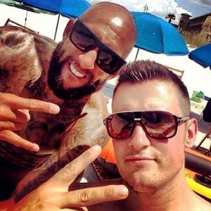 Goleiro Tim Howard aproveita férias (Foto: Reprodução / Instagram)