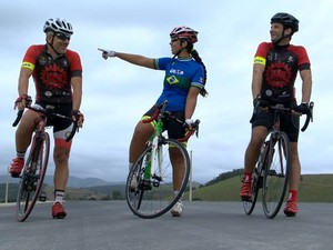 Capixabas mudaram de vida com a prática do ciclismo (Foto: Reprodução/ TV Gazeta)