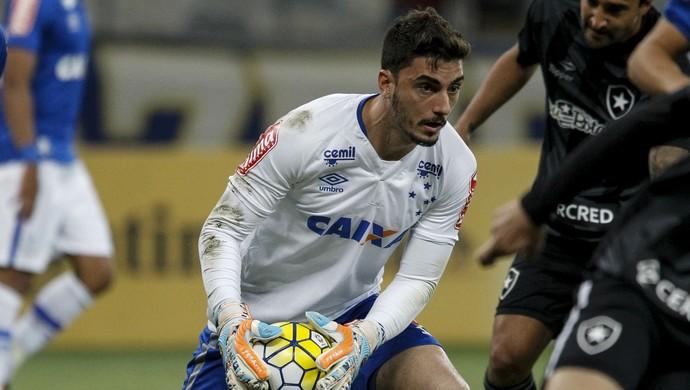 Cruzeiro x Botafogo, Rafael (Foto: Washington Alves/ Lightpress)