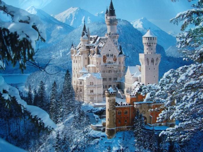 Castelos dos contos de fada. Veja nossa lista! (Foto: Reprodução)