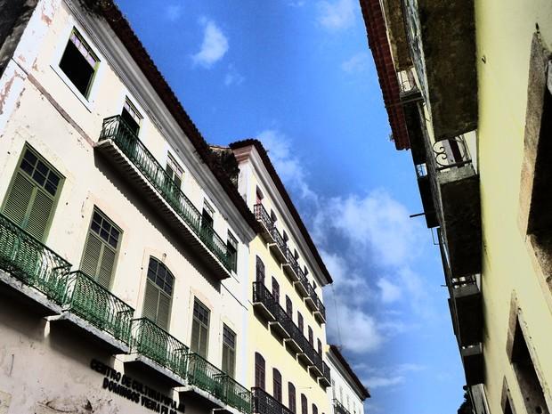 Casarões do Centro Histórico de São Luís (Foto: César Hipólito/TV Mirante)