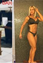 Ex-comissária de bordo larga carreira e vira atleta fitness aos 43 anos
