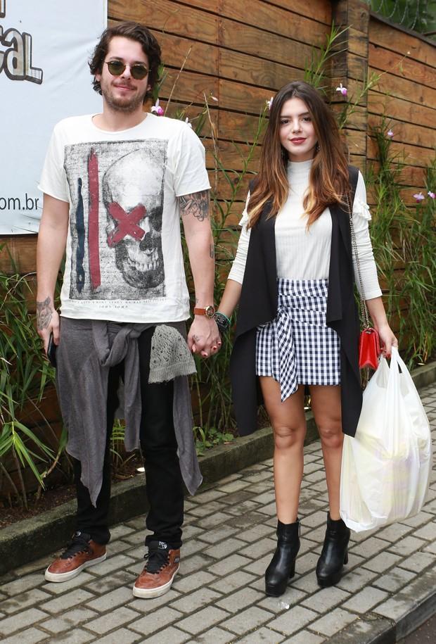 Giovanna Lancellotti e Gian Luca Ewbank  (Foto: Dilson Silva/ Agnews)
