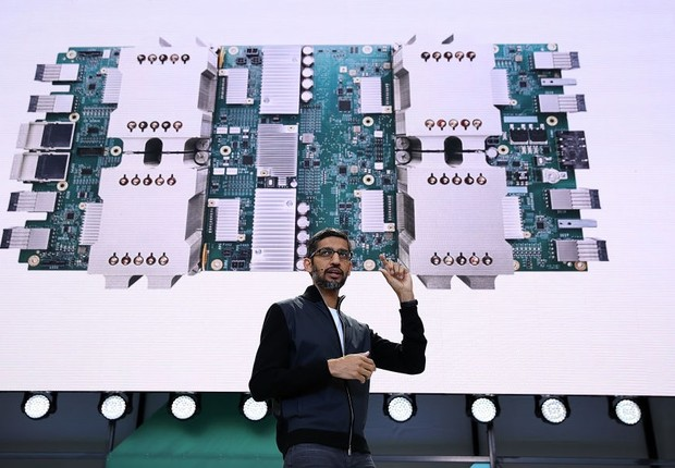 Sundar Pichai, CEO do Google (Foto: Justin Sullivan/Getty Images)