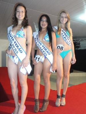 Garota Verão - representantes de Ametista do Sul, Planalto e Alpestre (Foto: Divulgação)