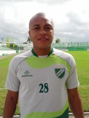 Goleiro Jamison se apresenta ao Murici (Foto: Jailson Colácio/Ascom Murici)