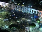 Lula participa de ato no Rio contra o impeachment de Dilma
