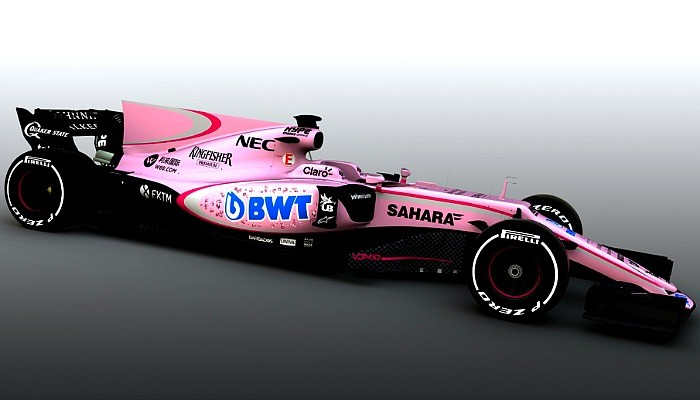 BLOG: A Force India e a Fórmula 1 em rosa