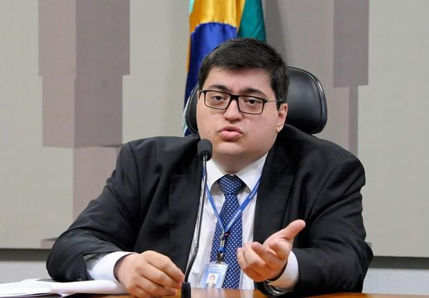 Felipe Salto, diretor-executivo da IFI (Foto: Pedro França/Agência Senado)