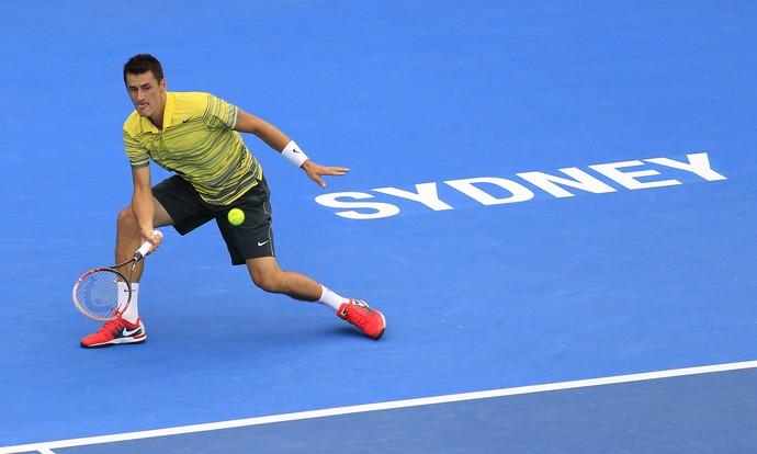 tênis bernard tomic sydney (Foto: AP)