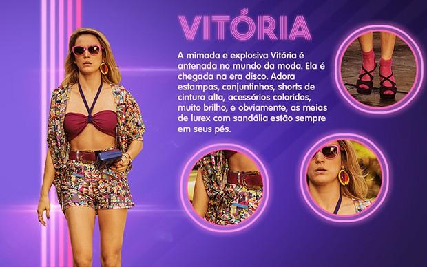 Vitória  (Foto: Boogie Oogie/TV Globo)