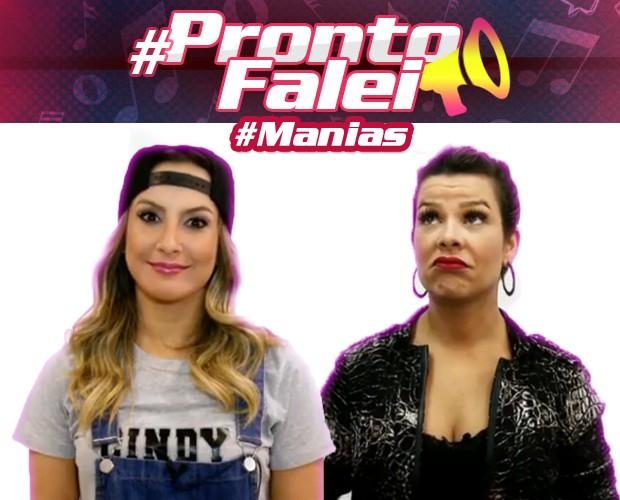 #ProntoFalei Manias (Foto: The Voice Brasil / Tv Globo)