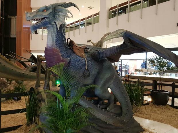Exposição internacional de dragões (Foto: Assessoria)