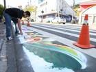 'Arte na Faixa' terá crianças pintando ruas da capital no fim de semana