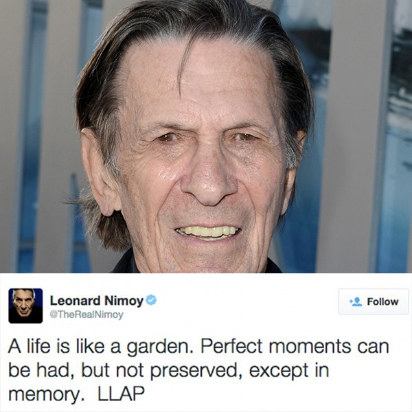 Leonard Nimoy (Foto: Getty Images/Twitter)