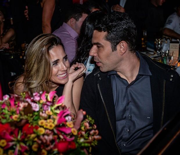 Wanessa e o marido, Marcus Buaiz (Foto: Francisco Cepeda/AgNews)