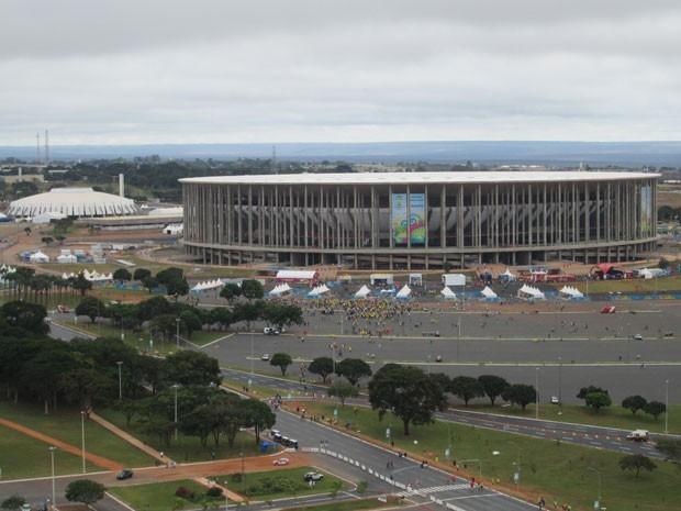 Estádio Nacional, em Brasília (Foto: Paulo Guilherme/G1)