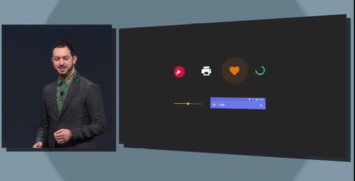 Android L poderá ter botões animados que reponde aos toques do usuário (Foto: Reprodução/Google)
