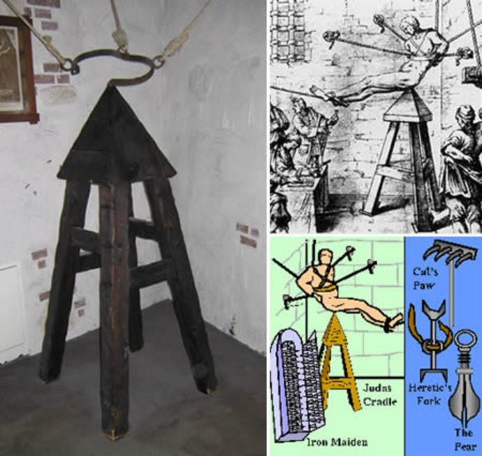 Brutal artefato utilizado na Idade Média (Foto: Reprodução)