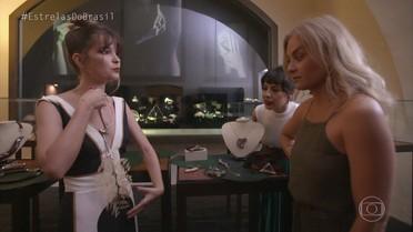 Andréia e Angélica conhecem o Espaço São José Liberto