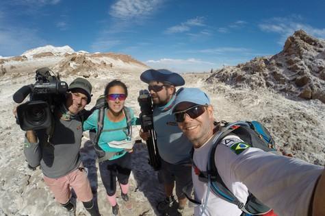 Esquipe do Planeta Extremo no Atacama (Foto: Divulgação)
