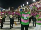 Sambódromo fica lotado com ensaios técnicos das escolas do Rio